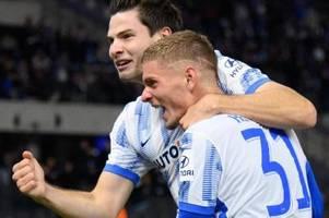 Hertha besiegt Fürth - Ekkelenkamp mit schnellem Tor-Debüt