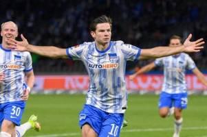 Wille war da - Joker Ekkelenkamp führt Hertha zum Sieg