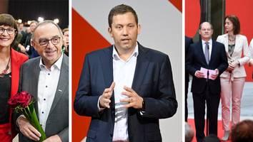 Analyse zum SPD-Wahlkampf - Hinter dem roten Vorhang: Die Harmonie in Scholz' SPD hängt am seidenen Faden