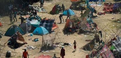 asylsuchende in texas: usa bereiten abschiebeflüge nach haiti vor