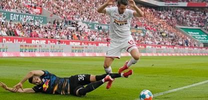 Fußball-Bundesliga: Vier aberkannte Tore bei Remis zwischen 1. FC Köln und RB Leipzig