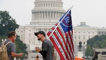 Am Kapitol: Washington rüstet sich für Pro-Trump-Demonstration
