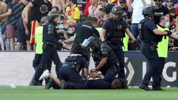 lens gegen lille: erneute fanschlägerei in der französischen ligue 1