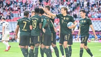 5. Spieltag: FC Bayern erobert Bundesliga-Spitze - Gladbach-Rückschlag