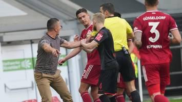 2. Bundesliga - Fortuna Düsseldorf trotzt Tabellenführer Regensburg einen Punkt ab