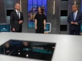 TV-Triell: Die wichtigsten Erkenntnisse aus dem finalen Triell
