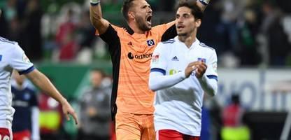 Hamburger SV bezwingt Werder Bremen: Coole Hamburger Jungs