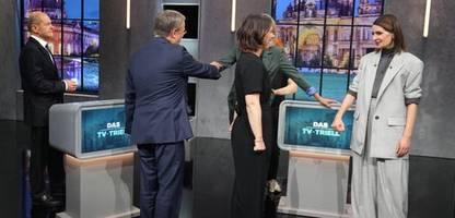 Debatte von Annalena Baerbock, Armin Laschet und Olaf Scholz: Ein Tor hätte dem Triell gut getan