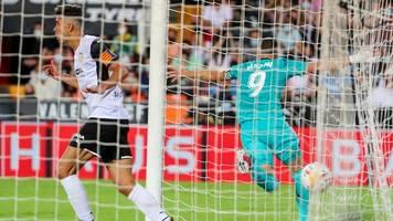Primera División: Späte Tore bescheren Real Sieg in Valencia