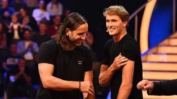 schlag den star: silvio heinevetter veräppelt tennis-star alexander zverev