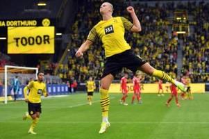 BVB-Spektakel mit Haaland-Toren gegen Union