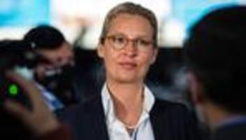 Spendenaffäre: Strafverfahren gegen AfD-Fraktionschefin Weidel eingestellt