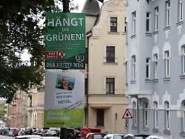 Beschluss in Bayern: Gericht verbietet Hängt die Grünen-Plakate