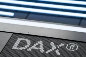 Börse in Frankfurt: Schwacher Wochenstart im erweiterten Dax