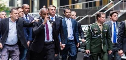 Uno-Generaldebatte in New York: Ungeimpfter Jair Bolsonaro isst Pizza auf dem Bürgersteig