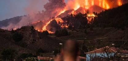 Vulkan auf La Palma: Lavawalze zerstört Häuser