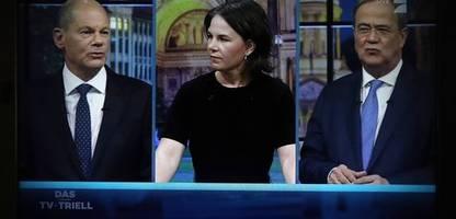 tv-triell zur bundestagswahl: »armin laschet braucht jetzt ein wunder«