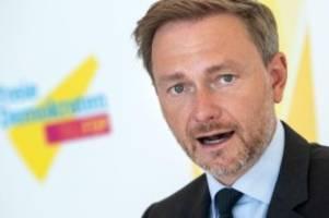 ARD-Sendung: FDP-Chef Lindner verspätet sich bei Hart aber fair