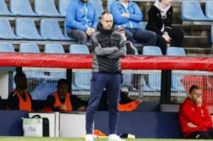 Fußball: Holstein-Trainer Werner zurückgetreten: Bremser übernimmt