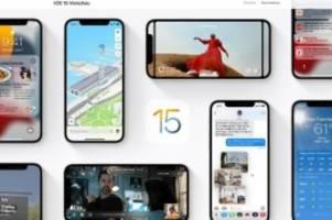 iphone-update: das hat sich apple für ios 15 einfallen lassen