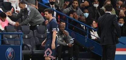 Erst nach Messis Auswechslung schießt PSG den Siegtreffer