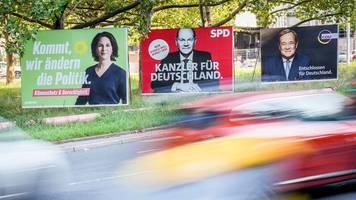 Bundestagswahl: Parteien starten Schlussspurt - überall Zuversicht