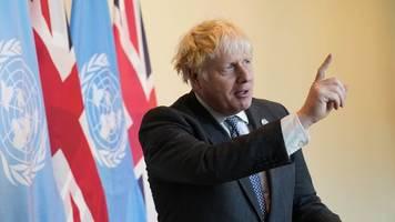 Klimaschutz - Johnson: Klimakonferenz ist Wendepunkt für die Welt