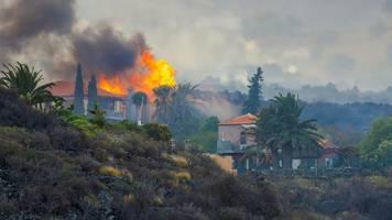La Palma: Tausende Menschen fliehen vor Vulkanausbruch