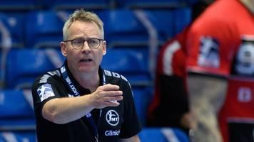 HBL: Melsungens Handballer trennen sich von Trainer Gudmundsson