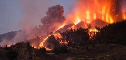 Vulkan auf spanischer Insel La Palma ausgebrochen
