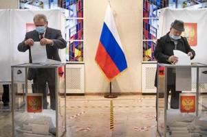 Kremlpartei feiert Sieg - Opposition spricht von Wahlbetrug