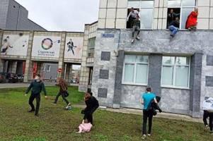 Angreifer schießt in russischer Uni um sich: acht Tote, mehrere Verletzte