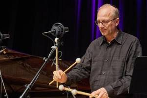 65 und weit weg vom Ruhestand: Augsburgs Star-Vibrafonist Wolfgang Lackerschmid