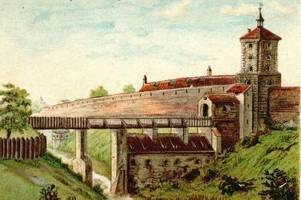 am fischertor in augsburg: ein stadttor entstand als pures luxusprojekt