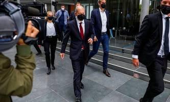 Aufsicht der Geldwäsche-Einheit: Scholz erschien zu dreistündiger Befragung