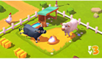 "Zynga debütiert ""Sneak Peek"" für den kommenden mobilen FarmVille 3 Titel"