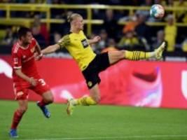Borussia Dortmund: Und dann leuchten Haalands Augen