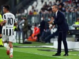 Juventus Turin unter Trainer Allegri: Feldherr mit verblasster Aura