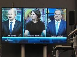 RTL/ntv-Trendbarometer: Union legt leicht zu, SPD weiter vorn
