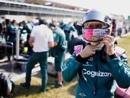 Trotzdem froh über neuen Vertrag: Schumacher sieht gerade schwarz für Vettel