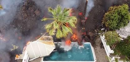 La Palma nach Vulkanausbruch: Alles fließt