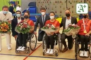 erfolg: bg klinikum feiert seine paralympics-heldinnen