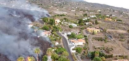 Mehr als 160 Gebäude auf La Palma durch Lava zerstört