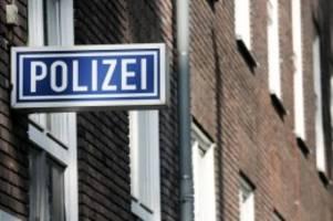 Kriminalität: Gesuchter Mann greift Polizisten an: Überwältigt