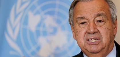 UN-Generalsekretär Guterres warnt vor katastrophaler Entwicklung