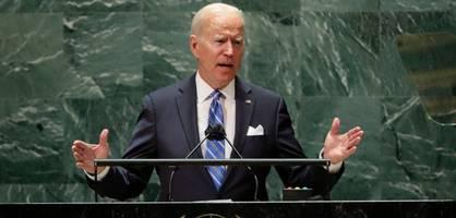 US-Präsident Biden hält seine erste Rede vor der UN-Vollversammlung