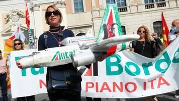 fluggesellschaft: arbeitskampf bei alitalia spitzt sich zu – streik am freitag
