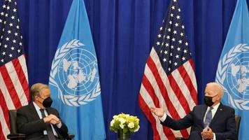 Vereinte Nationen: UN-Generaldebatte beginnt mit Biden-Premiere in New York