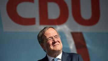 Bundestagswahlkampf - Laschet zu Aktion von Der Dritte Weg:Nicht akzeptabel