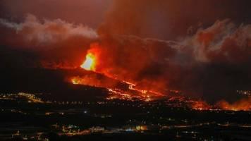 La Palma: Große Schäden nach Vulkanausbruch – Lava kurz vor dem Meer